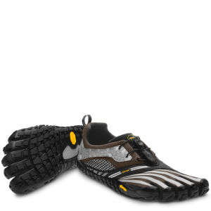 Vibram 5 Fingers Men's Spyridon LS Running Trainers - Military Green/Grey/Black