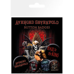 Avenged Sevenfold Hail to the King - Badge Pack