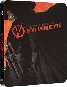 V For Vendetta - Steelbook Exclusivo de Zavvi (Edición Limitada)