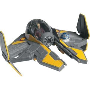 Star Wars Anakin's Jedi Starfighter Snaptite Model