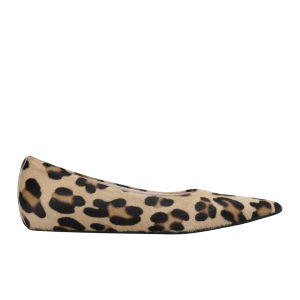 Just Ballerinas Women's Leopard Print Ballet Pumps - Leopard