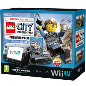 Wii-U Premium Pack - Includes Lego City Undercover