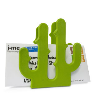 Cactus Shaped Letter Holder - Green