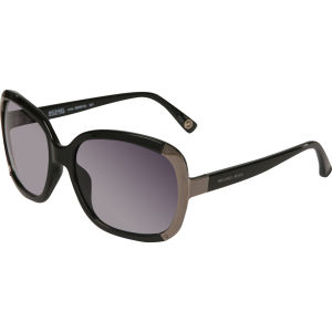 Michael Kors Lana Oversized Round Sunglasses - Black