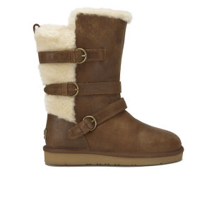 chestnut waterproof leather uggs