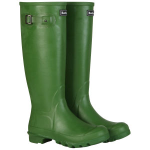 Barbour Unisex Town and Country Wellington Boots - Green