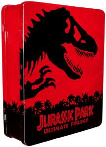 Jurassic Park Ultimate Trilogy: Limited Collector's Edition (Blu-Ray, Digital Copies)