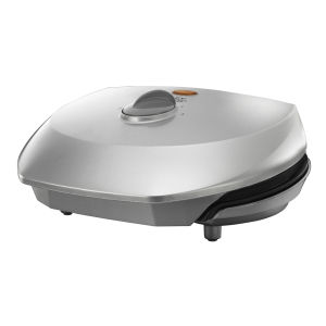 George Foreman Compact Variable Temp Grill - Silver