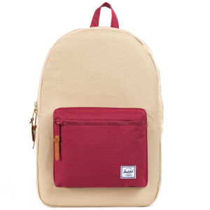 Herschel Settlement Backpack - Khaki/Burgundy