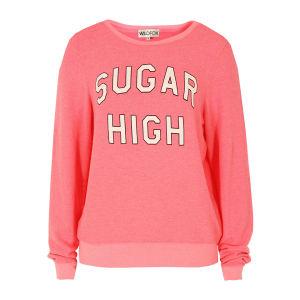 Wildfox Women's Sugar High Sweat - Bel Air Pink
