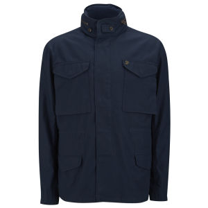 Farah 1920 Men's Ginsberg Army Jacket - True Navy