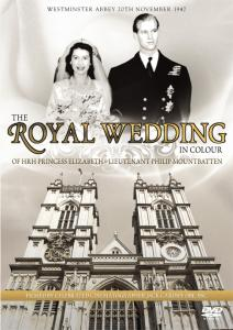 The Royal Wedding In Colour: HRH Princess Elizabeth and Lieutenant Philip Mountbatten