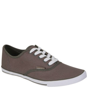 Ringspun Men's Plimsolls - Grey