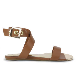 Ted Baker Women's Tabbey Leather Sandals - Tan Leather