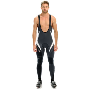 LOOK Men's Ultra Bib Tights - Black/Grey