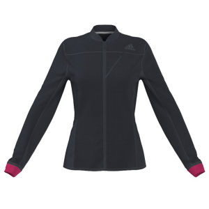 Adidas Women's Super Nova Jacket - Nightshade/Vivid Berry
