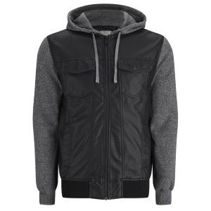 Brave Soul Men's Athens Jacket - Black