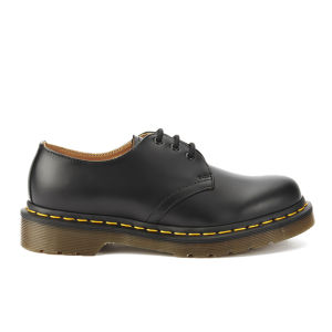 Dr. Martens Originals 1461 3-Eye Smooth Leather Gibson Shoes - Black