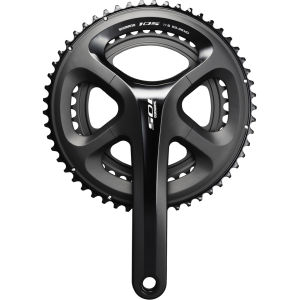 Shimano 105 FC-5800 Standard Bicycle Chainset - Black