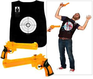 Water Wars Pistol and Vest Game