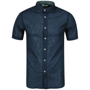 Boxfresh Men's Calixte Short Sleeved Shirt - Navy