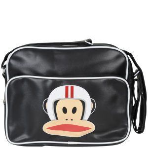 Paul Frank Helmet Messenger Bag - Black