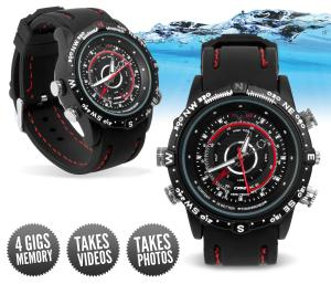 Waterproof Video Spy Watch