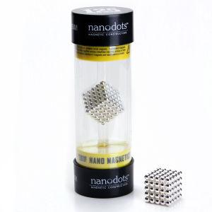 Nanodots Magnetic Constructors Silver - 125 Dots