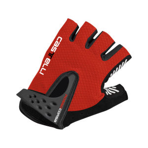 Castelli Men's S Rosso Corsa Cycling Gloves