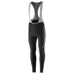 adidas Response Bib Tights - Black/Dark Onyx