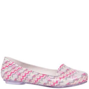 Mel Women's Glow Aztec Flats - Pink