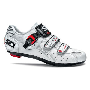 Sidi Genius 5 Fit Carbon Cycling Shoes - White 2014