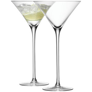 LSA Cocktail Glass 275ml Clear (Set of 2)