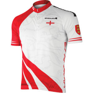 Endura Coolmax England Flag Cycling Jersey