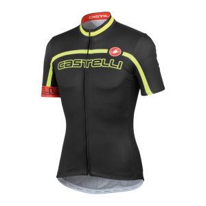Castelli Men's Velocissimo Team SS FZ Cycling Jersey