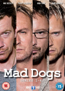 Mad Dogs - Series 1-4
