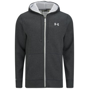 Under Armour Men's Storm Full Zip Hoody - Carbon Heather/White