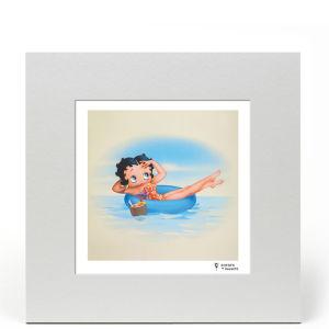 Betty Boop Fine Art Print - Innertube