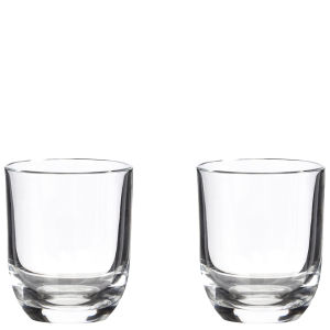 RCR Crystalleria Italiana Set of 2 Liquer / Shot Glasses