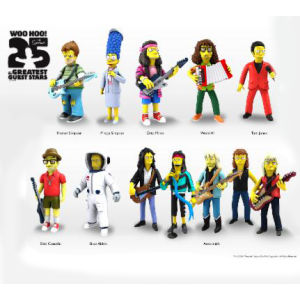 NECA Simpsons 25th Anniversary Steven Tyler 5 Inch Action Figure