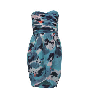 Full Circle Women's Vasari Silk Printed Dress - Summer Rain