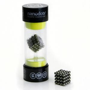 Nanodots Magnetic Constructors Black - 64 Dots