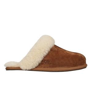 UGG Women's Scuffette II Suede Slippers - Chestnut