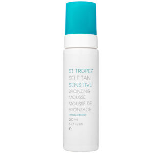 St Tropez Self Tan Sensitive Un-Tinted Mousse (200ml)