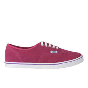 Vans Women's Authentic Lo Pro Suede Trainers - Bright Rose