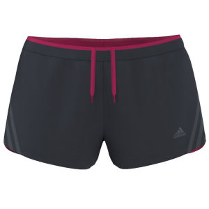 Adidas Women's Super Nova Glide Running Short - Nightshade/Vivid Berry