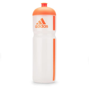 adidas Unisex Classic Water Bottle 0.75L - Clear/Orange