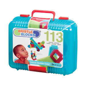 Bristle Blocks 113 Piece Deluxe Builder Case