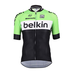 Belkin Team Original Aero Jersey - Black/Green 2014