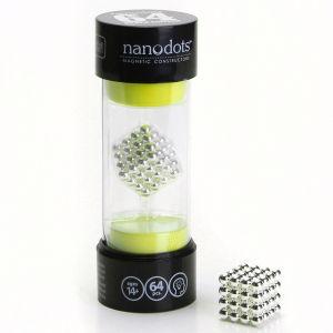 Nanodots Magnetic Constructors Silver - 64 Dots
